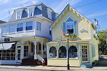 Oak Bluffs, Martha's Vineyard, Cape Cod, Massachusetts, USA