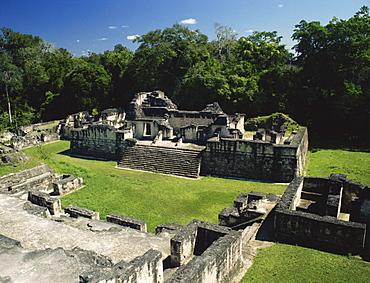 North Acropolis, Tikal, UNESCO World Heritage Site, Guatemala, Central America