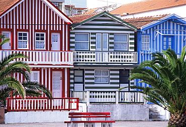Costa Nova, Beira, Litoral, Portugal, Europe