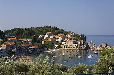 Przno, Adriatic Coast, Montenegro, Europe