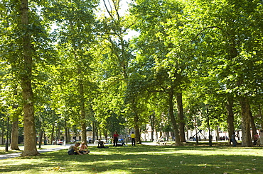 Tivoli park, Ljubljana, Slovenia, Europe