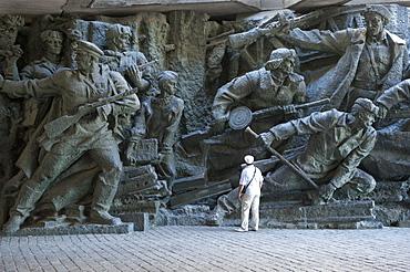 Sculpture, National Museum of the History of the Great Patriotic War 1941-1945, Kiev, Ukraine, Europe