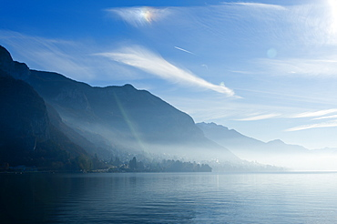 Lake Annecy, Savoie, France, Europe
