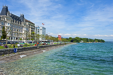Lac Leman, Geneva, Switzerland, Europe