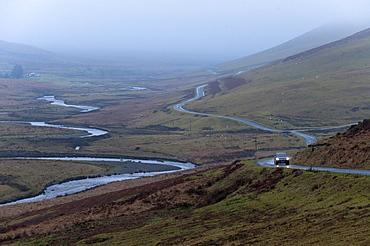 Elan Valley landscape, Powys, Wales, United Kingdom, Europe