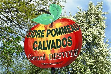 Route du Cidre (Cider Route), Normandy, France, Europe