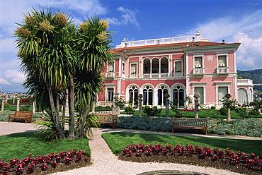 Villa Ephrussi de Rothschild, St. Jean Cap Ferrat, Provence, France, Europe