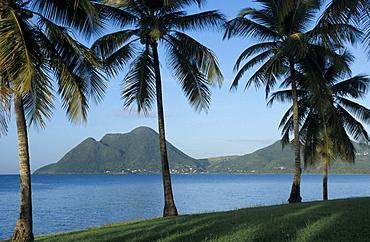 Morne Larcher, Baie de la Chery (Chery Bay), Martinique, West Indies, Caribbean, Central America