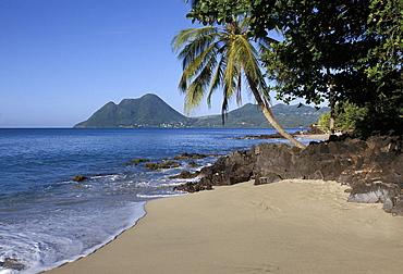 Ti Coco beach, Baie de la Chery (Chery Bay), Martinique, West Indies, Caribbean, Central America