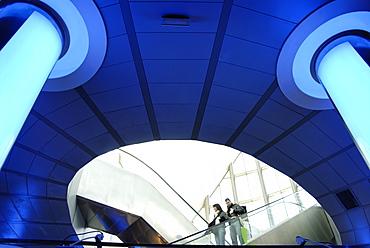 Interior of Oceanografic, City of Arts and Sciences, Valencia, Spain, Europe