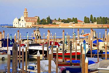 Churchyard, Isola san Michele, seen from Fondamente Nuove, Venice, UNESCO World Heritage Site, Veneto, Italy, Europe