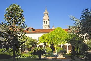 Armenian Monastery, San Lazzaro degli Armeni, and gardens, Venice, UNESCO World Heritage Site, Veneto, Italy, Europe