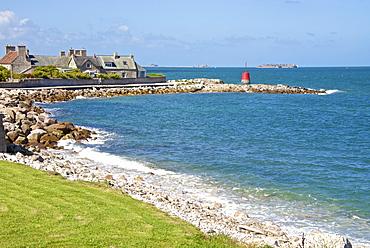 Sentier des Douaniers, Pointe de la Porte, Digosville, near Cherbourg, Cotentin, Normandy, France, Europe