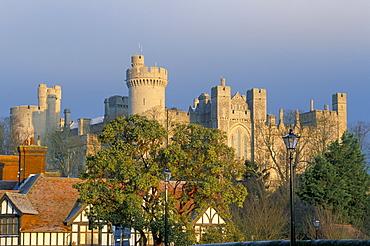 Arundel castle, Sussex, England, United Kingdom, Europe