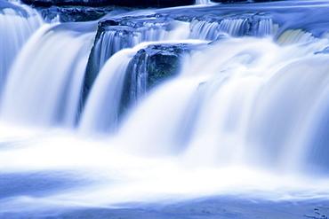 Upper Falls, Aysgarth, Wensleydale, Yorkshire, England, United Kingdom, Europe