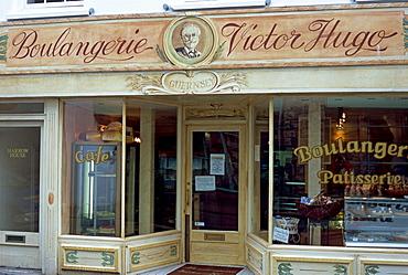 Boulangerie Victor Hugo, St. Peter Port, Guernsey, Channel Islands, United Kingdom, Europe