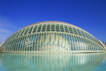 Hemisferic, City of Arts and Sciences, Valencia, Spain, Europe