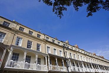 Royal York Crescent, Clifton, Bristol, Avon, England, United Kingdom, Europe