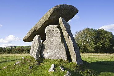 Trevethy Quoit, Bodmin Moor, Cornwall, England, United Kingdom, Europe