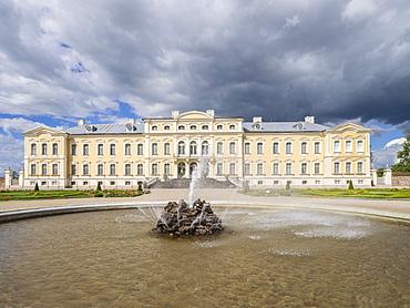 Rundale Palace, Latvia, Baltic States, Europe