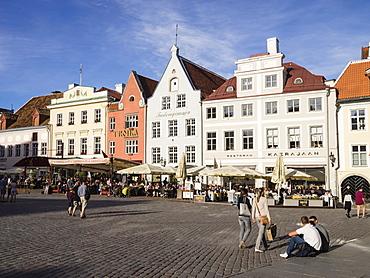 Town Hall Square, Tallinn, Estonia, Baltic States, Europe