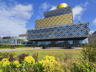 The Library, Birmingham, England, United Kingdom, Europe