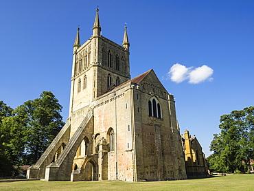 Pershore Abbey, Pershore, Worcestershire, England, United Kingdom, Europe