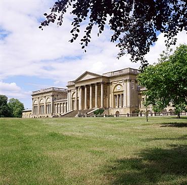 Stowe House, Stowe Landscaped Gardens, Buckinghamshire, England, United Kingdom, Europe
