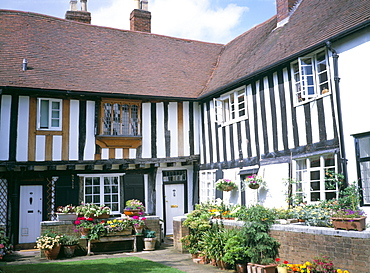 Vicars Close, Lichfield, Staffordshire, England, United Kingdom, Europe