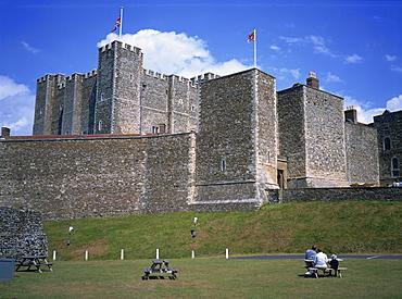 Dover Castle, Kent, England, United Kingdom, Europe