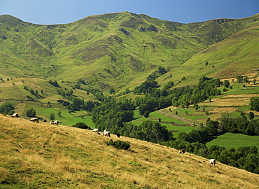 Landscape near Arreau, Midi Pyrenees, France, Europe
