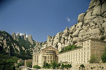 Monastery of Montserrat, near Barcelona, Catalonia, Spain, Europe