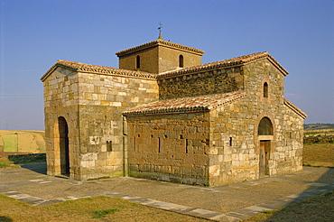 Church, San Pedro De La Nave, Castile Leon, Spain, Europe
