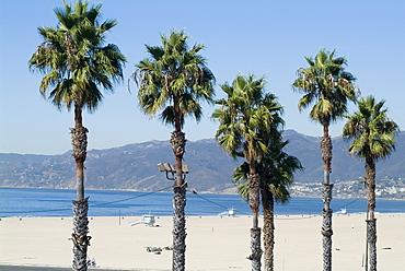 Santa Monica Beach, Santa Monica, California, United States of America, North America