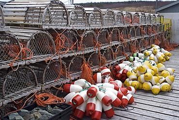Fourchu fishing village, Cape Breton, Nova Scotia, Canada, North America