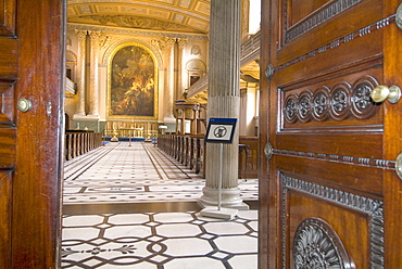 Painted Chapel, Old Royal Naval College, Greenwich, London SE10, England, United Kingdom, Europe
