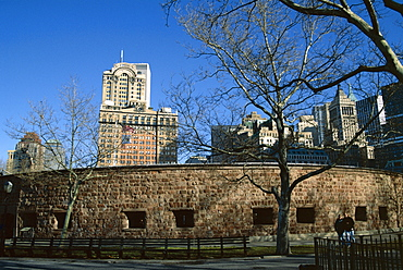 Castle Clinton, Battery Park, New York City, New York, United States of America (U.S.A.), North America
