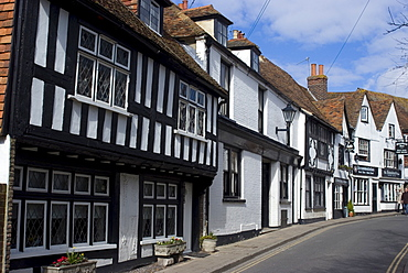 The High Street, Rye, East Sussex, England, United Kingdom, Europe