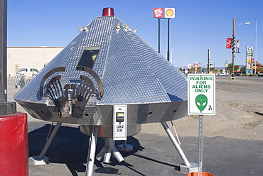 Fresh Alien Jerky, near Area 51, Baker, California, United States of America, North America