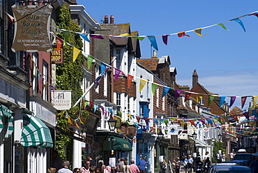 High Street, Rye, East Sussex, England, United Kingdom, Europe