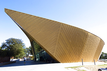 Firstsite Gallery, architect Rafael Vinoly, Colchester, Essex, England, United Kingdom, Europe