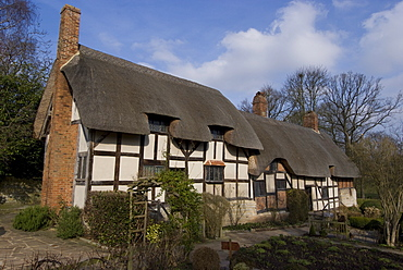 Cottage of Anne Hathaway (Shakespeare's wife), Stratford upon Avon, Warwickshire, England, United Kingdom, Europe