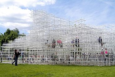 The Serpentine Pavilion for 2013, by Sou Fujimoto, London, England, United Kingdom, Europe