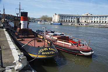 Along the Harbourside, Bristol, England, United Kingdom, Europe