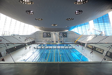 The Aquatic Centre, Queen Elizabeth Olympic Park, Stratford, London, E20, England, United Kingdom, Europe