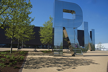 Front of the Copper Box Arena, Queen Elizabeth Olympic Park, Stratford, London, E20, England, United Kingdom, Europe