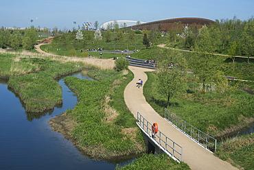 The Velodrome, Queen Elizabeth Olympic Park, Stratford, London, E20, England, United Kingdom, Europe