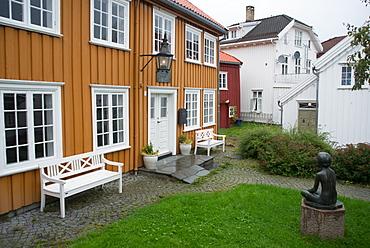 Henrik Ibsen's house, Grimstad, Norway, Scandinavia, Europe