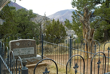 Doc Holliday's Grave, Glenwood Springs, Colorado, United States of America, North America