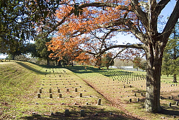 National Cemetery, Vicksburg Battlefield, Mississippi, United States of America, North America